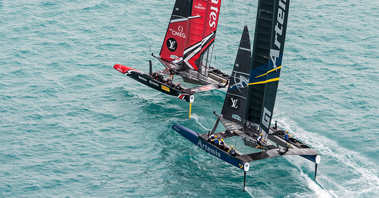 Emirates Team New Zealand en Artemis
