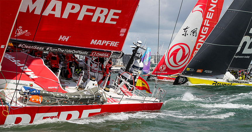 Mapfre, Team Brunel en Dongfeng Race Team