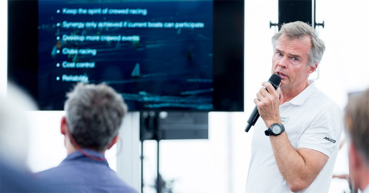 Volvo Ocean Race session in The Hague