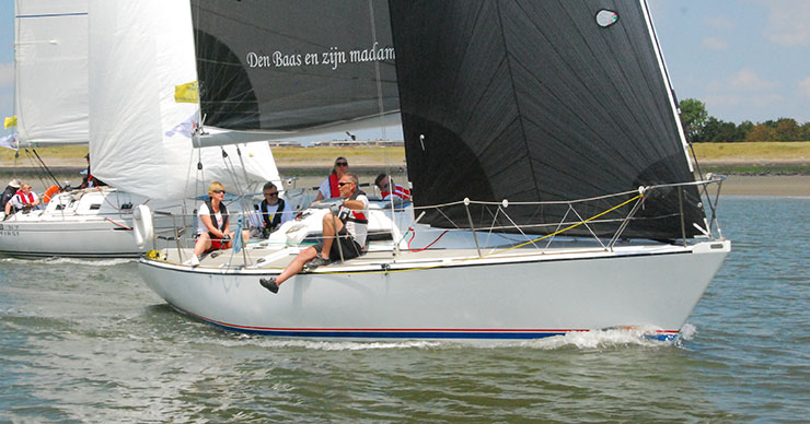 Schelderegatta start CR 2
