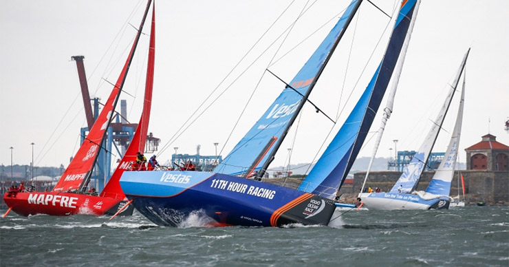 Volvo Ocean Race Goteborg in-port race