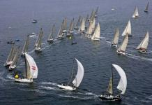 Rolex Farr 40 World Championship fleet