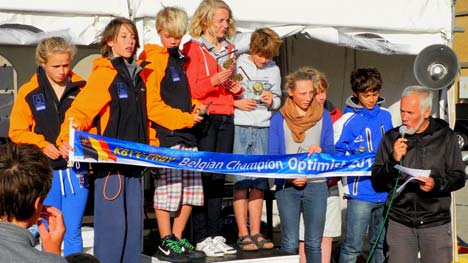 OBK Optimist winnaars