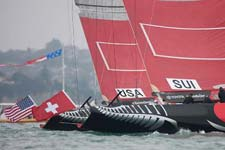 Alinghi vs BMW Oracle