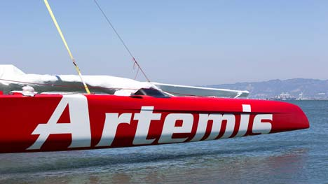 AC72 Artemis Racing