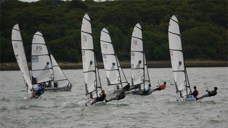 Cowes Dinghy week 2014