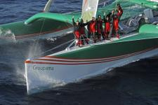 Groupama 3 finish
