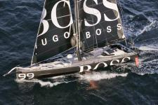 Hugo Boss on the move