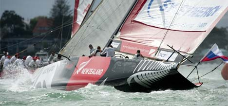 Louis Vuitton Cup - dag 2