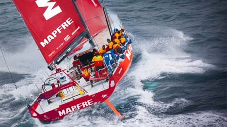 "Mapfre recordpoging ""Discovery of the America's"" route"