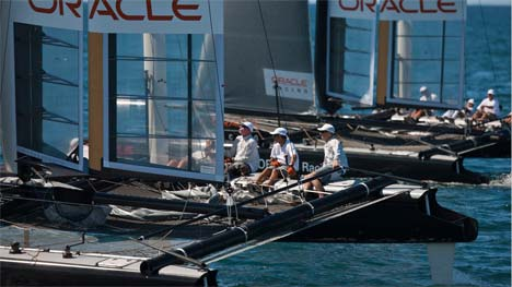 Oracle Racing AC45 catamaran