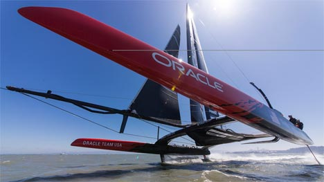 Airbus en Oracle Team USA