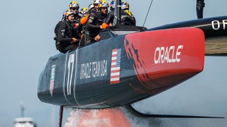 Oracle Team USA Little herbie