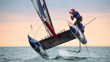 Red Bull Foiling Generation