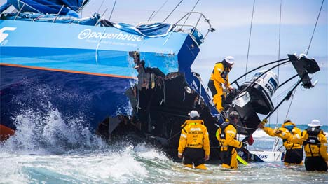 crash Team Vestas Wind