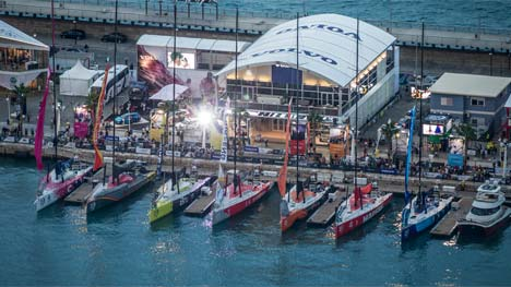 Volvo Ocean Race teams