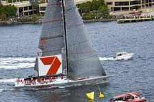 Wild Oats XI finish