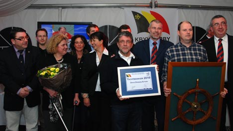 Antwerpse rescue-team wint titel Yachting Manager