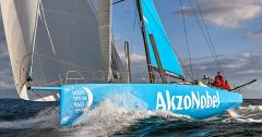 Team Akzonobel in de Volvo Ocean Race