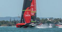 Emirates Team New Zealand (ETNZ) AC75 Te Rehutai