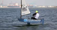 Foiling Optimist