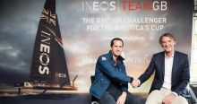 Ben Ainslie en James Ratclife