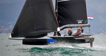 Team DutchSail naar finale Youth Foiling Gold Cup